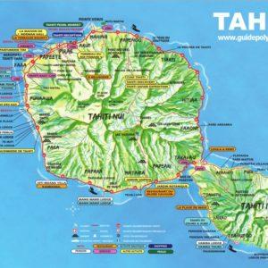 Plan de Tahiti