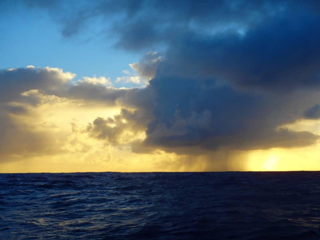 Levé de soleil en navigation