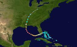 risque cyclonique sur terre comme sur mer