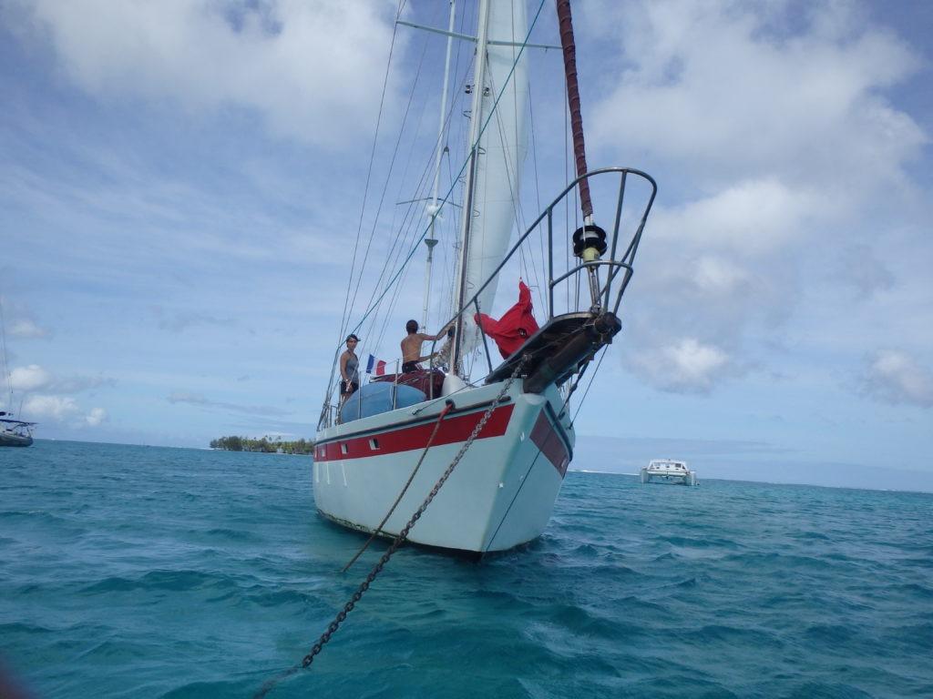Faire un beau voyage en voilier