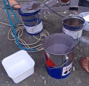 Le cout d'un carénage dépend du matériel et consommables utilisées