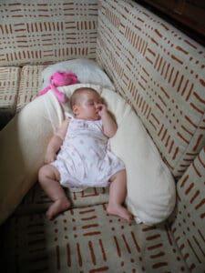 Coussin d'allaitement - sieste