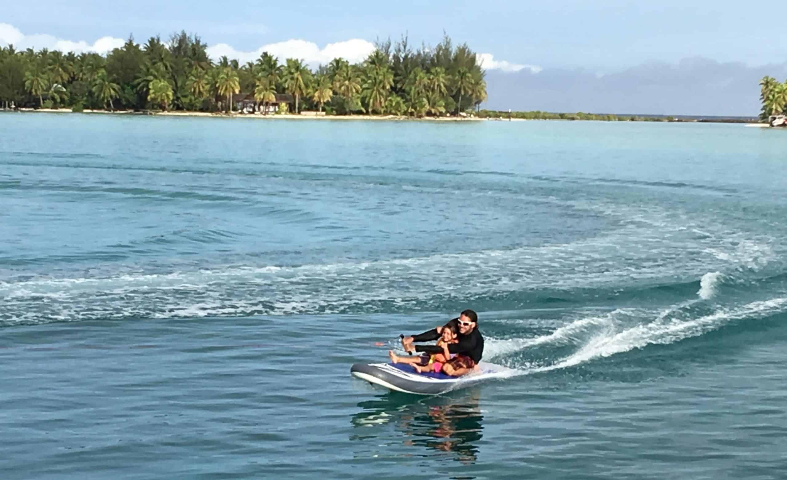 Paddle surf à Bora Bora