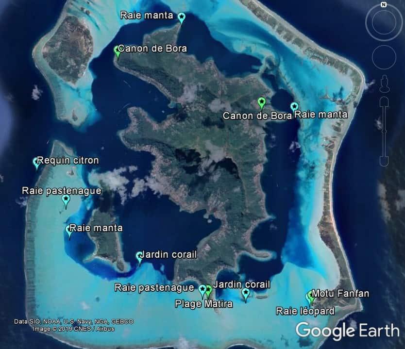 Activitées à Bora Bora