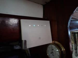 installation terminé du routeur wifi