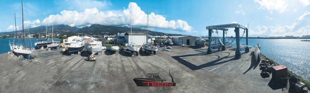 Carénage Technimarine à Tahiti