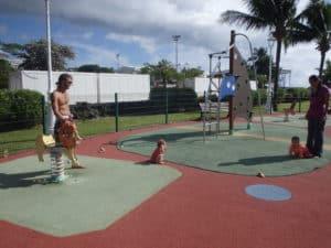Jardin de Paofai à Tahiti
