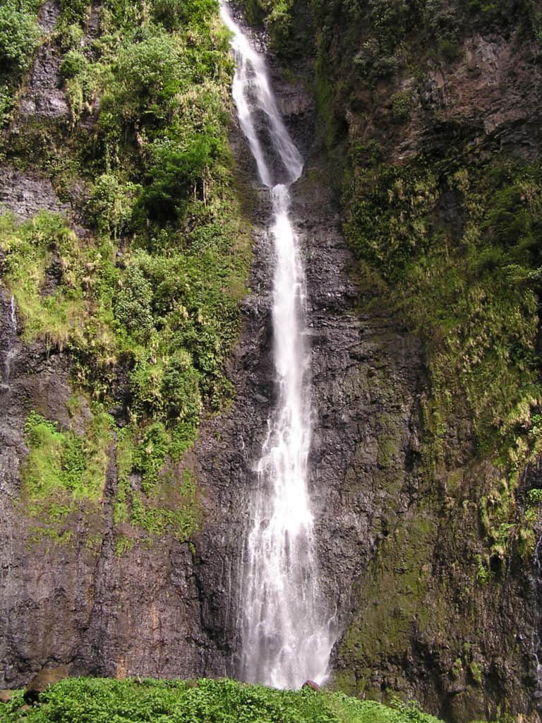 Les 3 cascades à Tahiti