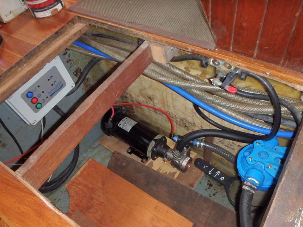 installer un dessalinisateur sur un voilier