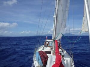 Partir en navigation en voilier