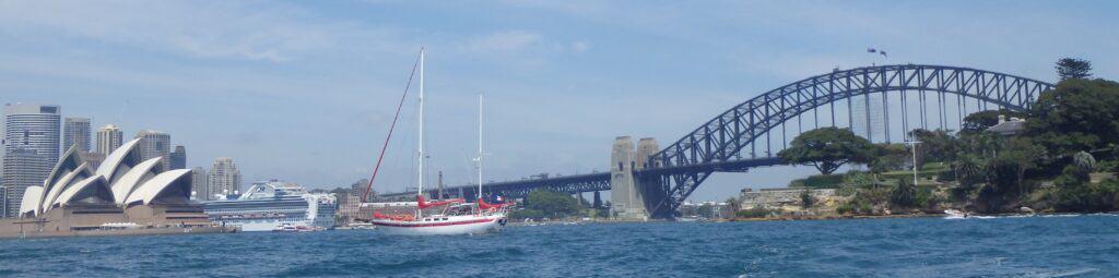 partir en voilier à Sydney