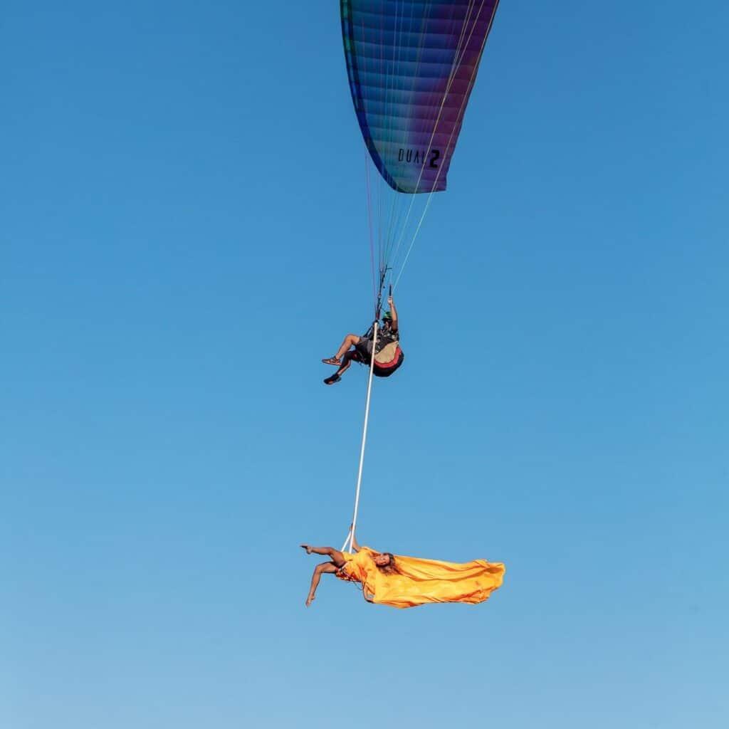 Sophie et Olivier de Kagou flying boat en mode princesse volante
