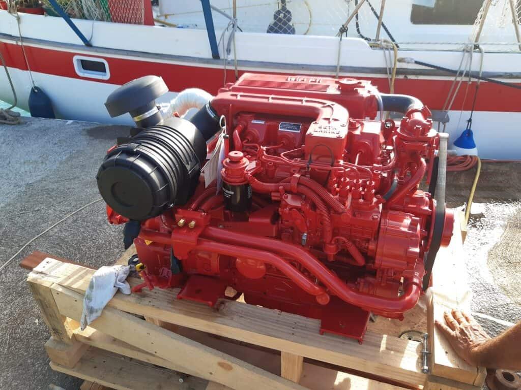 choix d'un moteur voilier : Nous avons choisi un Beta Marine 90cv