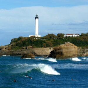 Biarritz, une ville de surfeurs