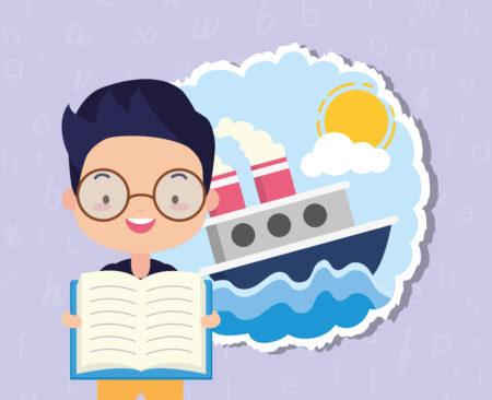 premiers pas en IEF et école en bateau