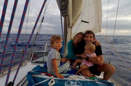 interview sarah famille voyage en voilier poussé par le vent
