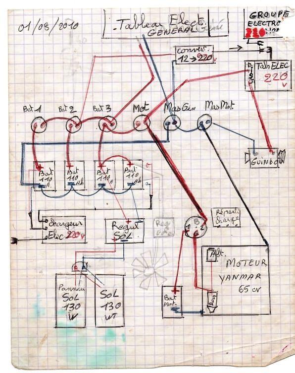 vieux schema electrique